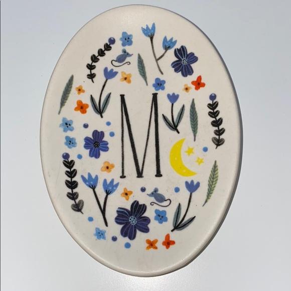Amelia Herbertson Monogram 'M' Trinket Dish